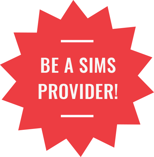Be a SIMS provider